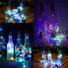 1 M LED Bottle Stopper String Lights LED Solar Copper Wire Lamp 4PCS - MULTI
