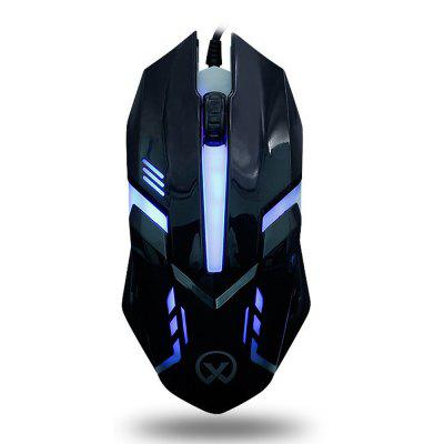 G813 Colorful Backlight USB Athletic Game Mouse