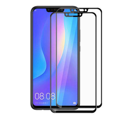 2 PCS 3D Temperado Vidro Full Screen Protector Film para HuaWei Nova 3 / Nova 3i