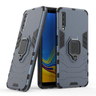 Armor All-inclusive with Bracket Anti-fall Hard Shell for Samsung A7 2018 A750