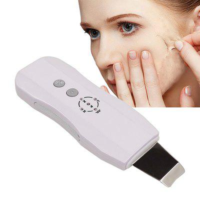 Ultrasonic Face Pore Cleaner Ultrasound Therapy Skin Scrubber Blackhead Remover
