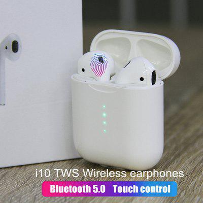 i10 TWS Bluetooth Earphones Stereo Wireless Charging Earbuds Bluetooth 5.0