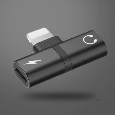 For Apple Audio Charging Two-In-One Adapter Simple Model