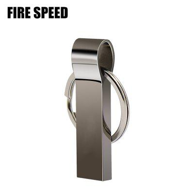 Fire Speed USB 2.0 Metal USB Flash Drive Pendrive 4GB/8GB/16GB/32GB/64GB/128GB