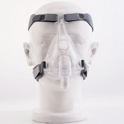 MOYEAH CPAP Machine Mask Full Face Mask With Adjustable Headgear Strap Clip