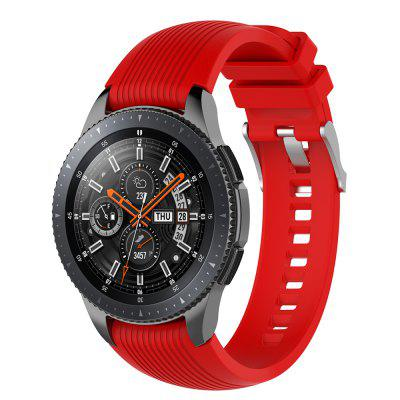 22MM Silicone Bracelet Strap Watch Band do Samsung Gear S3 Frontier / Classic