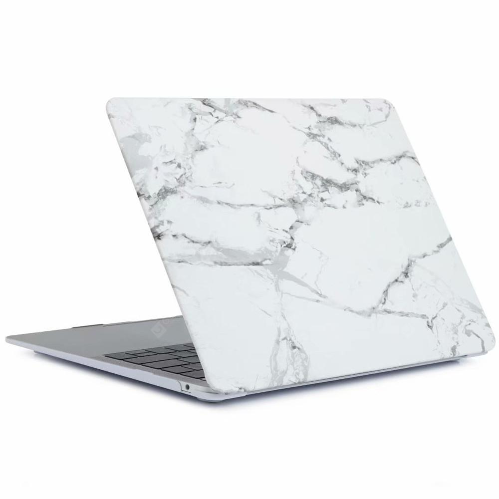 online store 71121 3537a White Marble Plastic Pattern Hard Case for MacBook Air 13.3 Inch