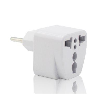 2500 W US / UK / EU / AU naar EU Plug Socket Oplader Travel Power Adapter Converter