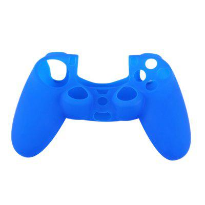 Black Blue Red Soft Silicone Rubber Gel Anti-Slip Sleeve for PS4 Controller