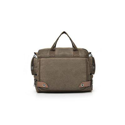 Canvas Handtasche Notebook One-Shoulder Bag Außentasche