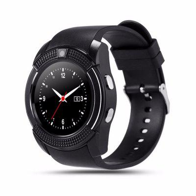 V8 Bluetooth Smart horloge Touchscreen Polshorloge met camera / simkaartsleuf