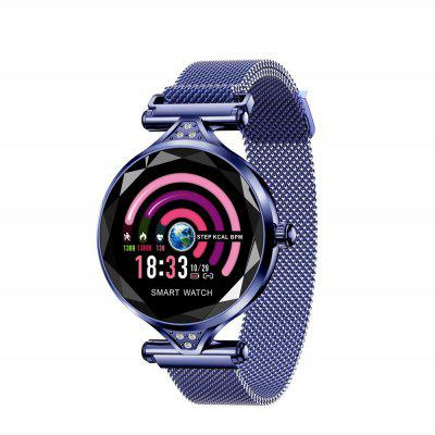 Women Fashion Smart Watch Blood Pressure Heart Rate Monitor Fitness Tracker Image