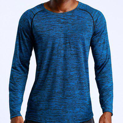 Autumn and Winter Sportswear Outdoor Running Quick-Drying Sports T-Shirt