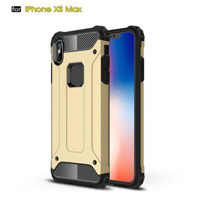 For IPhone XS max Soft Silicon Hard Plasticive Shockproof Armour Phone Shell