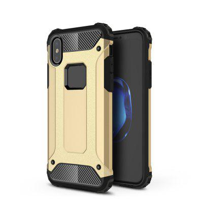 Voor IPhone Xs Soft Silicon Hard Plasticive Shockproof Armor Telefoon Shell