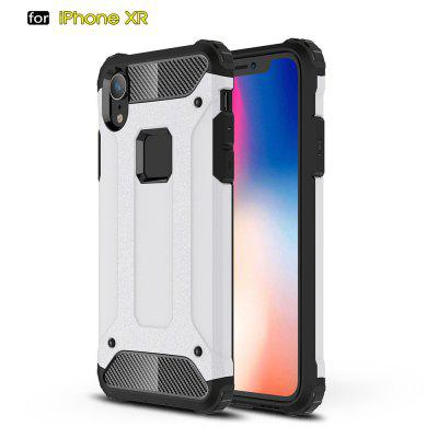 Voor IPhone Xr Soft Silicon Hard Plasticive Shockproof Armor Telefoon Shell