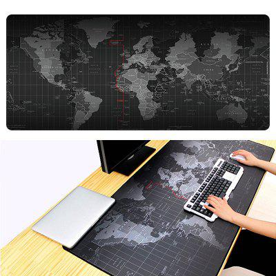 Large World Map Mouse Pad Gaming Mousepad Waterproof Foldable Game Mat