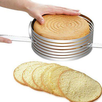 Adjustable 7 Layers Mousse Ring Cake Bread Slicer