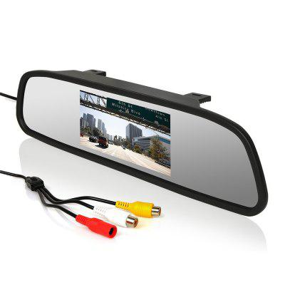 5 Inch Car Rearview Mirror Monitor Bidirectional AV Input for DVD Camera VCR