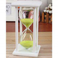 Creative Home Crafts Wooden  Minutes Time Timer Hourglornaments