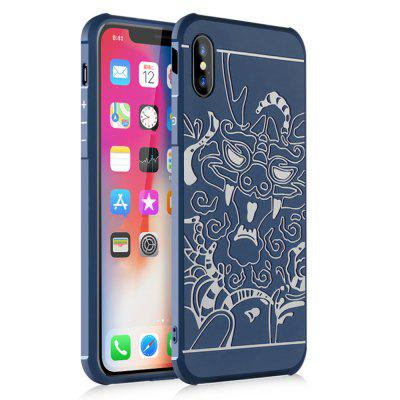 3D Personality Skull TPU Cover Phone Case for iPhone X -  1.77 Free ... 26c58cc08b9