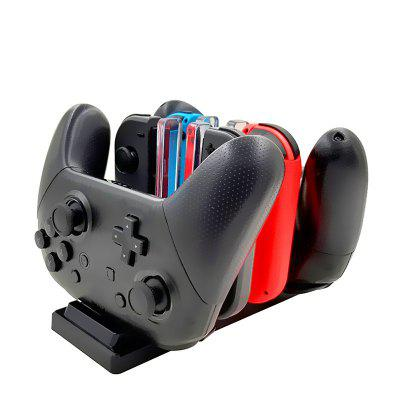 6 in 1 Charging Station for Nintendo Switch Joy-Con Controllers and Pro