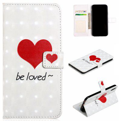 For iPhone XS Case 3D Vision Leather Magnetic Flip Wallet Cover For Iphone X