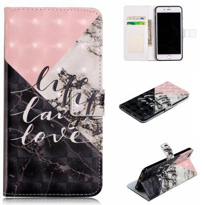 Phone Case For Iphone 6 6S 3D Vision PU Leather Wallet Flip Cover
