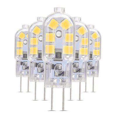 5PCS G4 LED Lampe Lampada 360 Degree Transparent Shell DC 12V