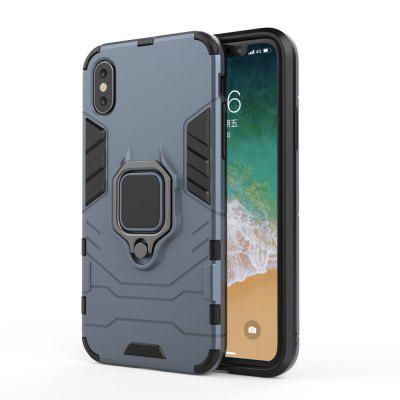 For iPhone X All-Inclusive with Bracket Anti-Fall Hard Shell