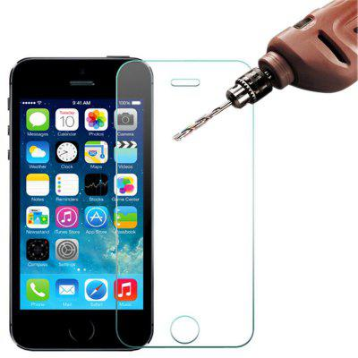 2 Pcs 2.5D 9H Tempered Glass Screen Protector Film for iPhone 5/5C/5S/SE