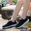 CARTELO Women's Fashion Breathable Casual Shoes - BLACK
