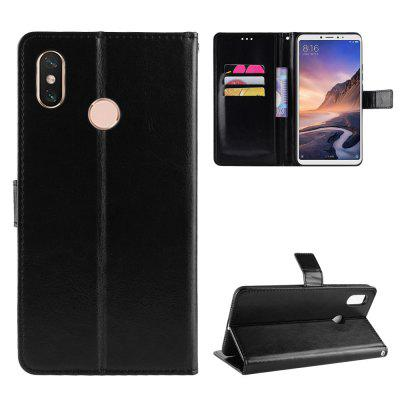 Crazy Horse PU Leather Case For Xiaomi Mi Max 3