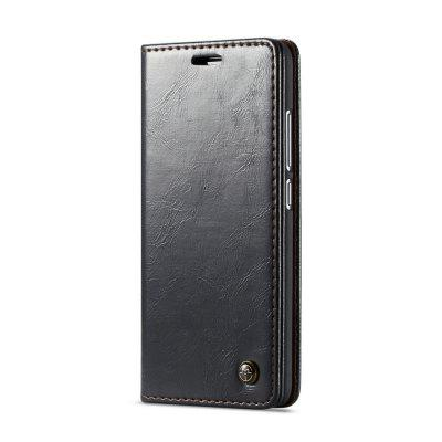 CaseMe Business Flip Wallet Phone Case Card Slot Hard Cover for Xiaomi Redmi 6A
