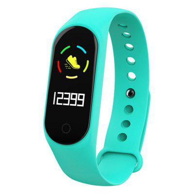 V6-M3S IP67 Fitness Tracker blood pressure Heart Rate Monitor Smart Watch