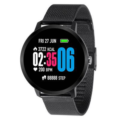V6-V11 1.3inch Screen Heart Rate and Blood Pressure Alert Bluetooth Smart Watch Image