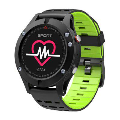 V6-F5 Heart Rate Monitor GPS Bluetooth Fitness Tracker IP67 Smart Watch Image