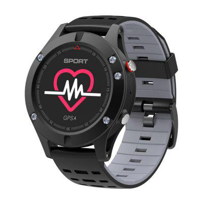 V6-F5 Heart Rate Monitor GPS Bluetooth Fitness Tracker IP67 Smart Watch