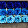 18 Flora Scented Bath Soap Rose Flower Plant Essential Oil Soap Gift for - MULTI-B