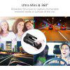 JunsunS30 Mini WIFI Auto DVR Dash Kamera videokamera Dashcam Digitale - FEKETE