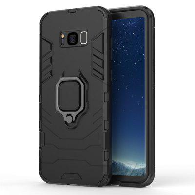 Voor Samsung S8 Plus All-inclusive met beugel Anti-Fall Hard Shell