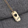 Men's  People's Best Friend Chain Necklace - GOLD
