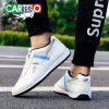 CARTELO Men's Fashion Sports Casual Shoes Board Shoes - NATURAL WHITE