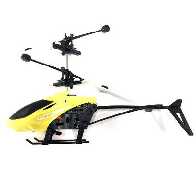 Indukcja Flying Aircraft Electric Micro Helicopters Toys Gift for Kids