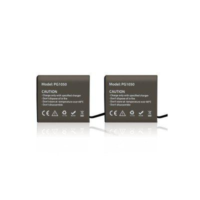 2pcs 1050mAh Battery for 4K Action Camera / SJCAM SJ5000 /SJ7000 / EKEN H9 /H8R