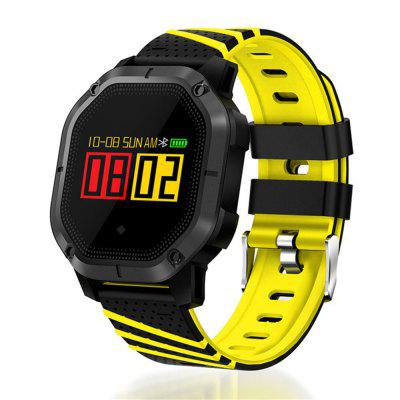 V6-K5 Various Sports Mode Heart Rate Monitoring Waterproof Bluetooth Smart Watch Image