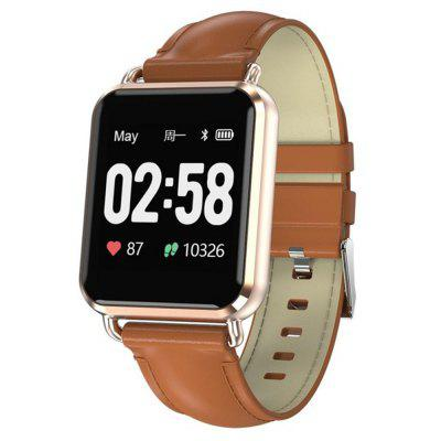 V6-CQ13 1.3-INCH Heart Rate  Monitor ECG Sports 200MAH Bluetooth Smart Watch