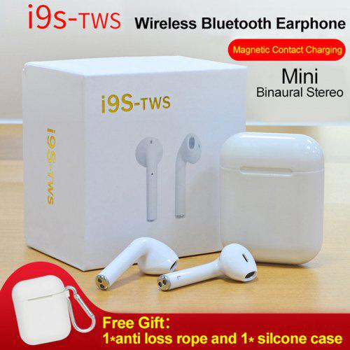 db4e403ede6 TWS i9s Twins Mini Headset Bluetooth Wireless Portable Stereo Bass Earphones  | Gearbest
