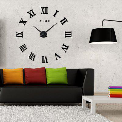 Home Decor DIY Analog Number Wall Clock Home Decor DIY Analog Number Wall Clo