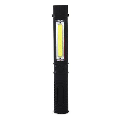 COB Pen LED Flashlight Waterproof for Outdoor Work with Magnet